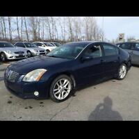 2004 Nissan Maxima leather sunroof 2 set tires