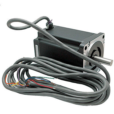Nema34 Single Shaft 5.5a1000oz-in Stepper Motor