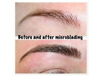 Gumtree offer microblading £80, semi permanent makeup eyebrows £90, individual and 3d eyelashes £40