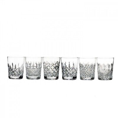 Waterford Lismore Connoisseur Heritage Double Old Fashioned Set of 6 # 40025987 Waterford Lismore Double Old Fashioned