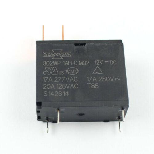 Song Chuan 302WP-1AH-C M02 (302WP-1AC-C, HF62F, JQX-62F, OMIF-S-112LM) 12VDC New