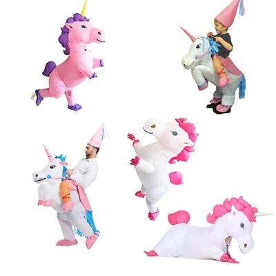 Inflatable Unicorn Costume for Kids Adult Women Christmas Party Halloween Suit (Halloween Suits For Kids)