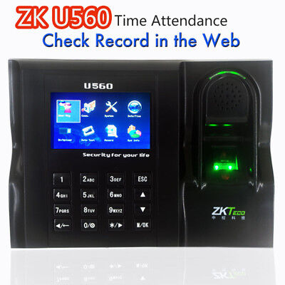 Software Web Ie Server Browse Records Zkteco U560 Zk Employee Time Attendance