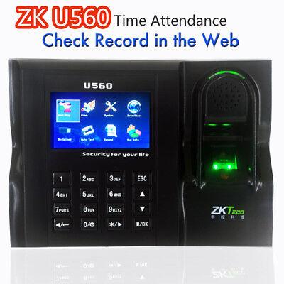 Software Web Ie Server Browse Records Zkteco U560 Zk Employee Time Attendance
