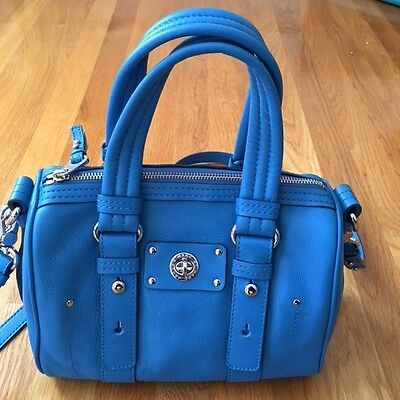 NWT New Marc by MARC JACOBS Totally Turnlock Shifty Leather Satchel Bag $358+tax