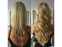 Hair Extensions/ Indian, Russian, Armenian/ Mikro Rings, Pre bonded fusion, Mini Tubes, Easy Shrinks