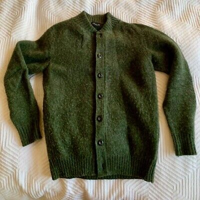 Howlin' by Morrison - Cardigan sweater, Small, Green