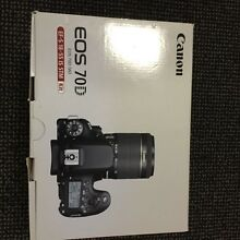 Canon 70D +More  for swipe with Canon 6D (please contact) Kingsford Eastern Suburbs Preview