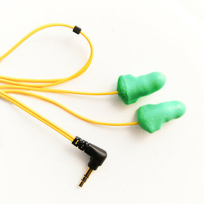 Plugfones Y G Foam Noise Cancellation Earbuds Earplugs Headphones Ear Protection