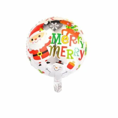 4pcs 18inch Christmas Foil Balloons Helium Decor Inflatable Party Supplies Usual