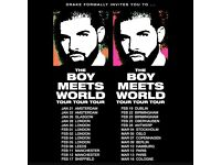 3 X Drake tickets boy meets world tour Sheffield Feb 17