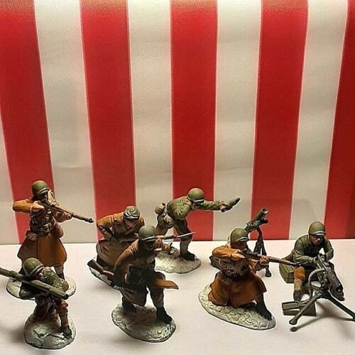 TSSD  WWII US Infantry painted plastic 1/32 54mm  lot 2