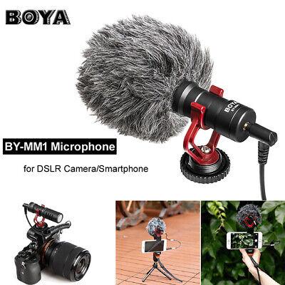 BOYA BY-MM1 Mikrofon Elektret Kondensor Video Mic für iPhone Nikon Canon Kameras