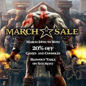 Epic Games & More March Sale! 20% OFF!!