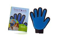 true touch pet deshedding glove