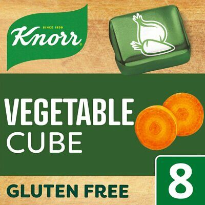 KNORR VEGETABLE STOCK CUBES 3 X 8 PACK