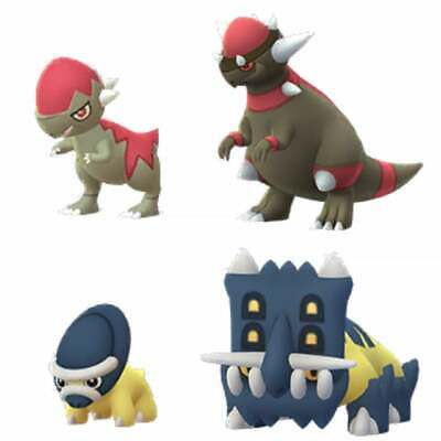 Pokemon Go Shiny Cranidos or shiny Shieldon- Catch - Guaranteed - Describe