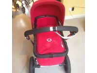 Bugaboo cameleon pram, cot, car sit in mint condition