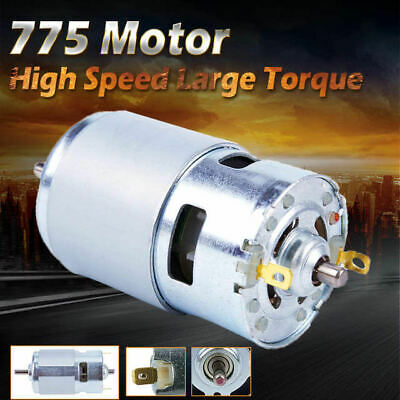 775 Dc 12v-36v 3500-9000rpm Motor Brushed Large Torque High Power Low Noise O6e5