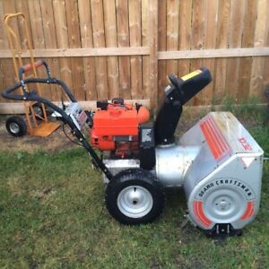 "Craftsman snowblower 32"" cut/10 hp"