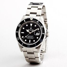 Rolex Submariner Stainless Steel Automatic Men's