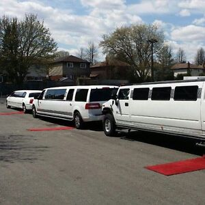 Woodbridge Mississauga king city  Luxury limo limousine service