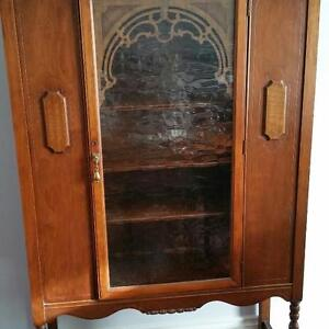 2-Beautiful Antique China Cabinets