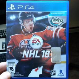 NHL 18 - PS4 (Original Packing - Brand New)