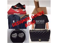 Designer Goods Boro Top Brands Tshirts, Earrings, Handbags, Trainers, Tracksuits, Ugg Boots And More