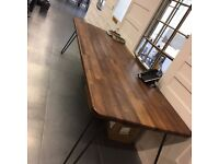 Handmade 12 Seater Rustic Wooden Dining Table