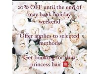 DollyLocks - 20% OFF!! Bank holiday offer!!Mobile and Homebased hair extensions