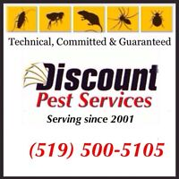 DI$COUNT PEST CONTROL (Guaranteed, Licensed & Affordable)