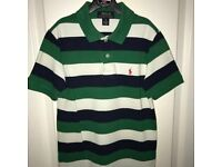 Genuine Ralph Lauren Polo & Tshirt, plus Benetton Polo - All Aged 8 Years