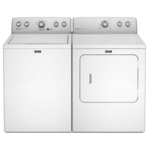 Maytag High-Efficiency Top-Load Washer & Dryer