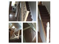 Building & joinery services window's door's stairs joiner builder fencing decking conversions