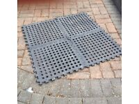 Square of camping matting to keep the dirt out of the tent/caravan/motorhome