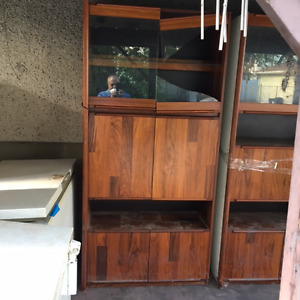 Display units, cupboards, BBQ etc