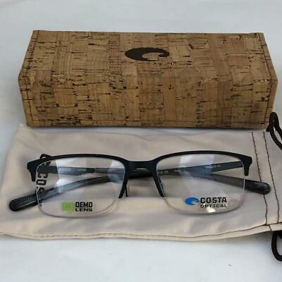 COSTA DEL MAR MARIANA TRENCH 300 SATIN BLACK EYEGLASSES BRAND (Costa Del Mar Eyeglasses)