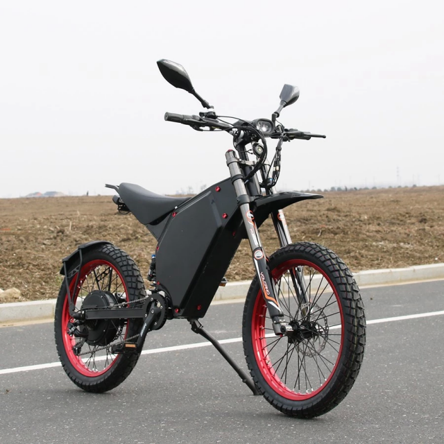 12000w/72v Electric Bicycle Scooter Ebike Mountain Bike Super Fast 120km/h (New - 6999.99 USD)