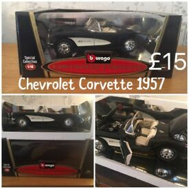 1:18 Diecast collectible car Chevrolet Corvette