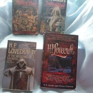 Masters of Horror:  Clive Barker & H.P. Lovecraft