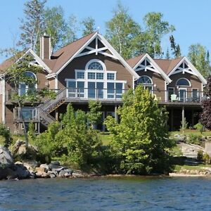 Breathtaking Mansion-Sized Waterfront Property in Elliot Lake.
