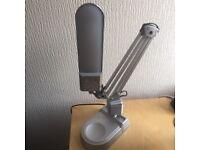 LED Desk Lamp - Silver