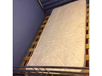 Second hand single bed mattress vgc