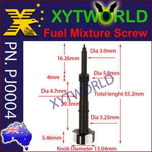 PJ0004-Air-Fuel-mixture-screw-adjuster-Keihin-FCR-Carb-Ktm-Honda-Yamaha-Kawasaki