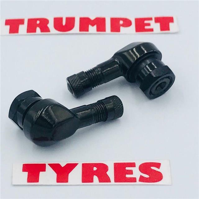 Tire Valve Stems,Akozon 4pcs 90 Degree Angle Tire Valve Stems for Car Motorcycle Tyre
