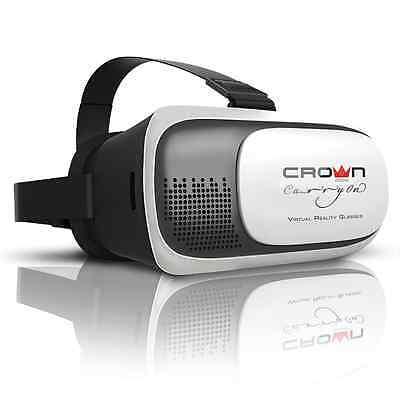 OCCHIALI REALTA' VIRTUALE VISORI 3D 360° PER SMARTPHONE ANDROID APPLE