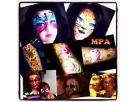 From £30: Face Painting / Face painter/ Festival Glitter/ Glitter Tattoos
