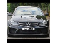 Private number plate RAJA RAJ KING c63 a45 AMG M4 m6 S3 RS3 s5 RS4