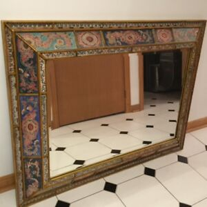 """Artisans Hand Crafted Framed Mirror 48""""x36"""" - $350 or best offer"""